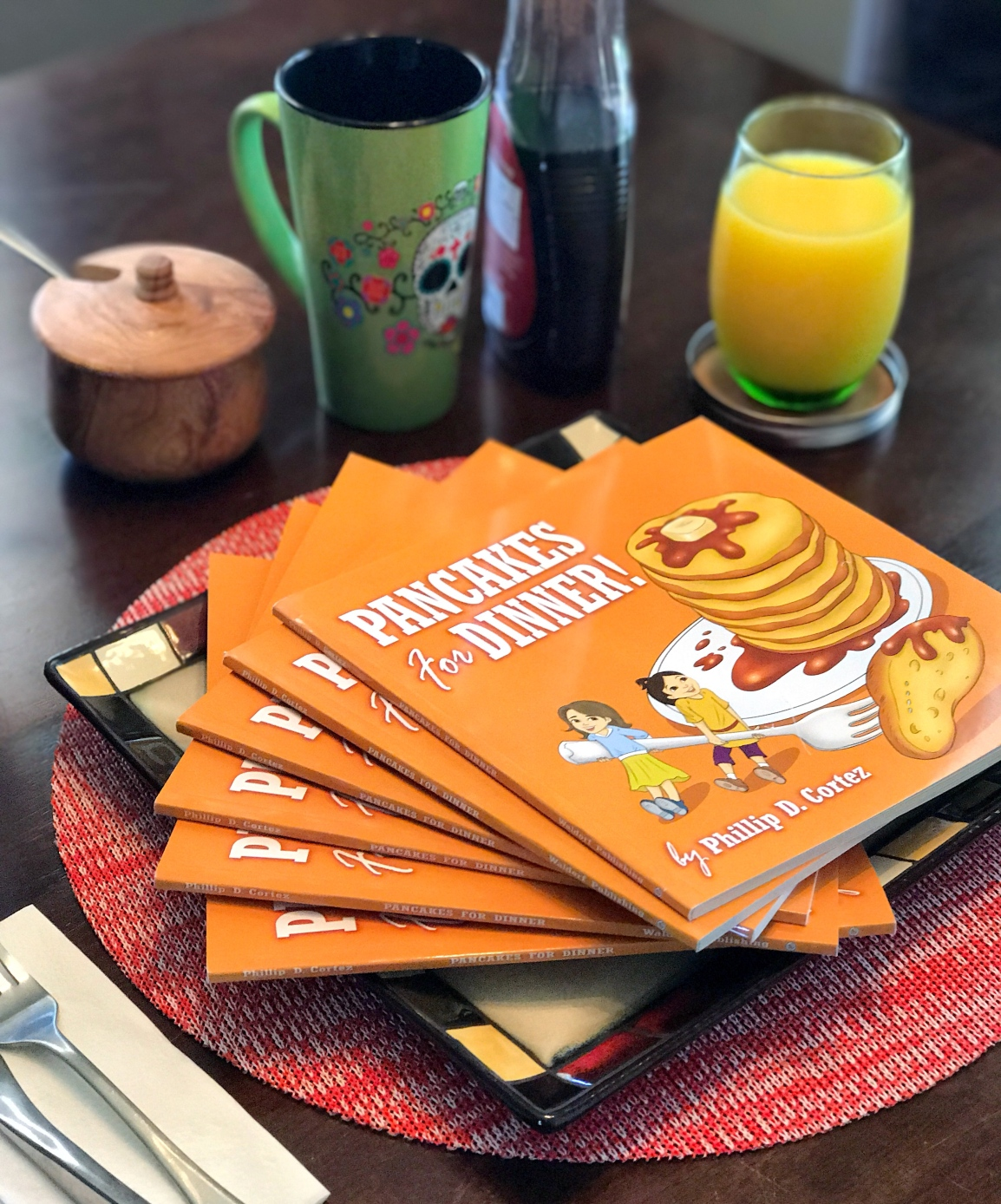 You're invited to a Pancake DinnerParty